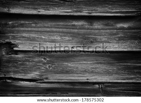 Dark plank floor texture, great for grunge backgrounds. - stock photo