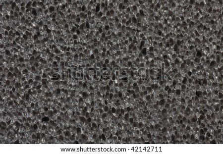 Dark porous background - stock photo