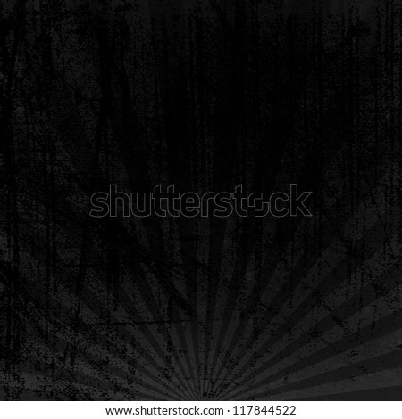 dark rays pattern - stock photo