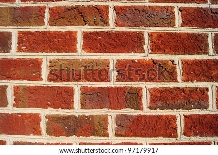 Dark red brick wall background