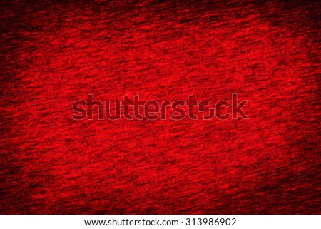 dark red fabric texture background abstract pattern and black vignette, may use as christmas background - stock photo