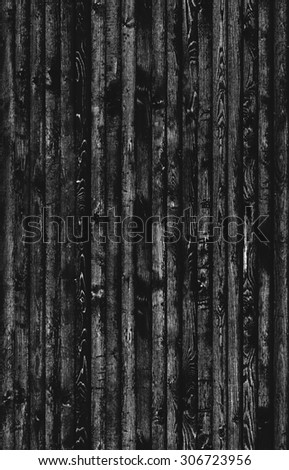 Dark seamless wood texture background - stock photo