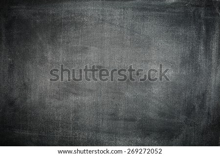 dark texture of chalkboard and school time  - stock photo