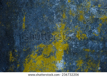 dark texture of old plaster on the wall - stock photo