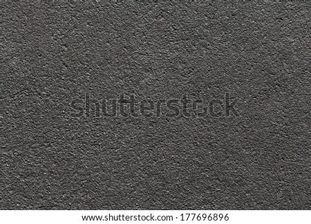 Dark urban asphalt road background texture - stock photo