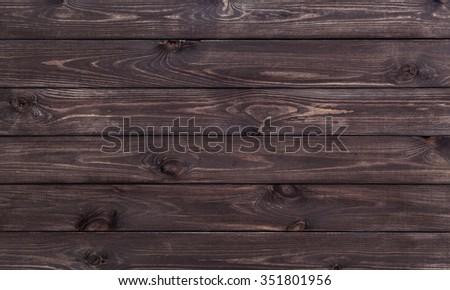 dark wood texture background - stock photo