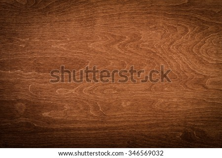 Dark wood texture background. Hardwood, wood grain, organic material grunge style. Vintage wooden surface top view. Wooden table top view.