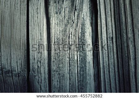 Dark wood texture. background old table - stock photo