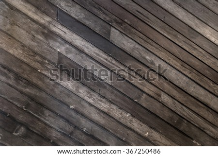 Dark Wood using as Background - stock photo