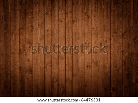 dark wooden panels