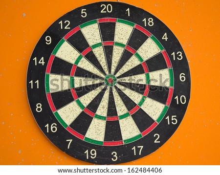 dart board - stock photo