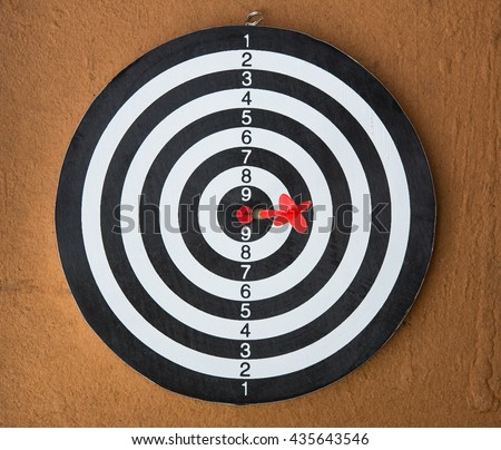 Dart board is a competition and opportunity. it is be like as  the target center and goal of business. therefor Bulls eyes is both challenge,success,risk management.