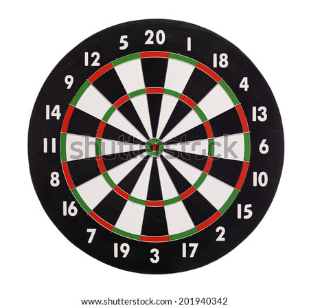 Dartboard Isolated