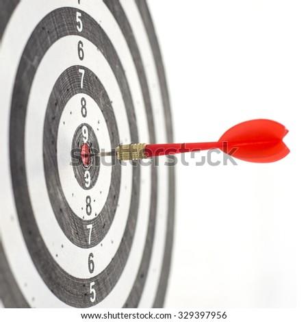 Darts projection - stock photo