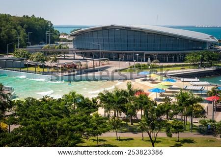 Darwin City Waterfront, Australia - stock photo