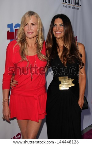 """Daryl Hannah and Hilary Shepard at """"The Hot Flashes"""" Premiere, Arclight, Hollywood, CA 06-27-13 - stock photo"""