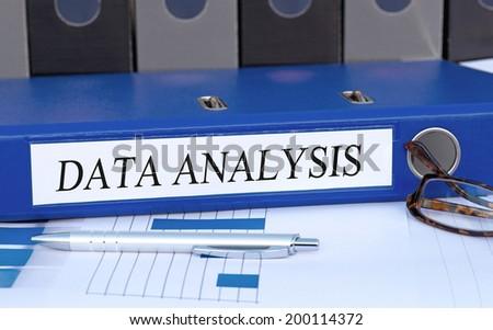 Data Analysis - stock photo