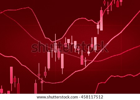 "Data analyzing in forex market trading: the charts and summary info for making trading. Charts of financial instruments represent the sign of ""Sideways up trend and Sideways down trend""."