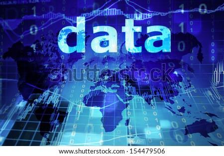 data concept - stock photo