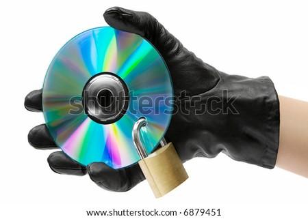 Data Theft - stock photo