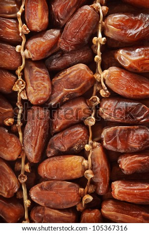 Date fruits - stock photo