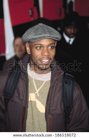 Dave Chappelle at premiere of THE 25TH HOUR, NY 12/16/2002