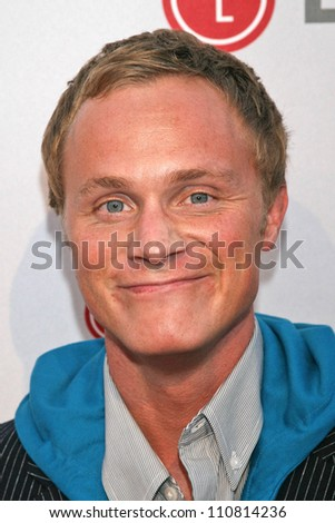 David Anders at the Universal Media Studios Emmy Party. LG House, Malibu, CA. 08-02-07 - stock photo