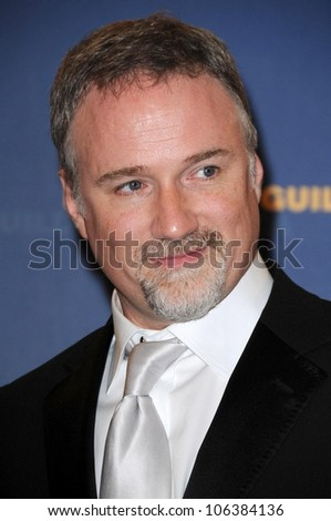 David Fincher in the press room at the 61st Annual DGA Awards. Hyatt Regency Century Plaza, Los Angeles, CA. 01-31-09 - stock photo