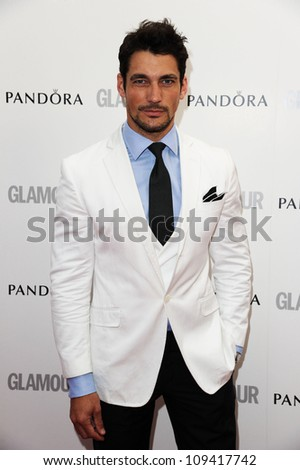 David Gandy arriving for the Glamour Women Of The Year Awards 2012, at Berkeley Square, London. 29/05/2012 Picture by: Steve Vas / Featureflash - stock photo