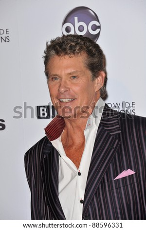 David Hasselhoff at the 200th episode party for Dancing With The Stars at Boulevard 3 in Hollywood. November 1, 2010  Los Angeles, CA Picture: Paul Smith / Featureflash