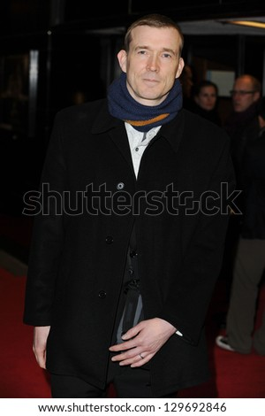 "David Mitchell arrives for the ""Cloud Atlas"" premiere at the Curzon Mayfair, London.18/02/2013 Picture by: Steve Vas"
