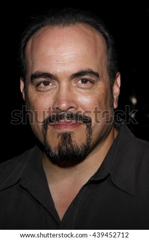 "David Zayas at the Los Angeles Premiere of ""Changeling"" held at the Academy of Motion Picture Arts and Sciences in Beverly Hills, USA on October 23, 2008. - stock photo"
