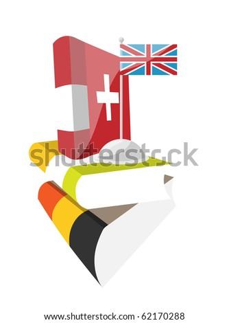 Day of European Languages, - stock photo