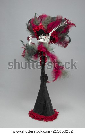 Day of the dead art - stock photo