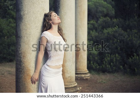 Daydreaming - stock photo