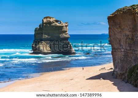 Daylight view of beach at Gibson Steps in Twelve Apostles by Great Ocean Rd, Australia