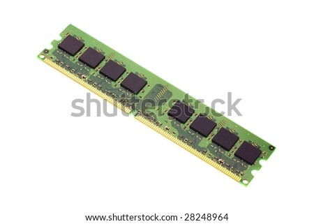 DDR RAM Memory - stock photo