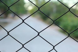 Corroded amp Rusted Chain Link Fence Free Stock Photo by j l