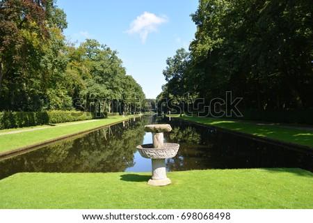 De Haar Castle Gardens Netherlands Stock Photo 698068498 - Shutterstock