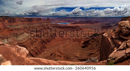 Dead horse point state park - stock photo