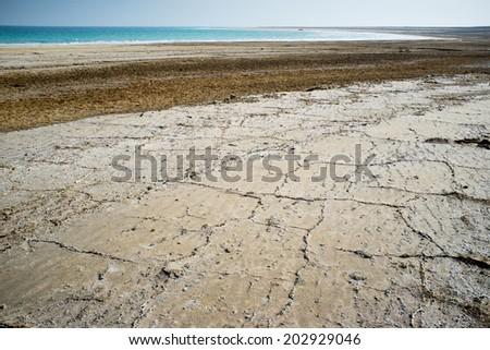 Dead Sea, Israel - stock photo