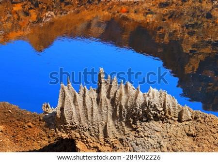 Dead Sea Salt . Israel. - stock photo