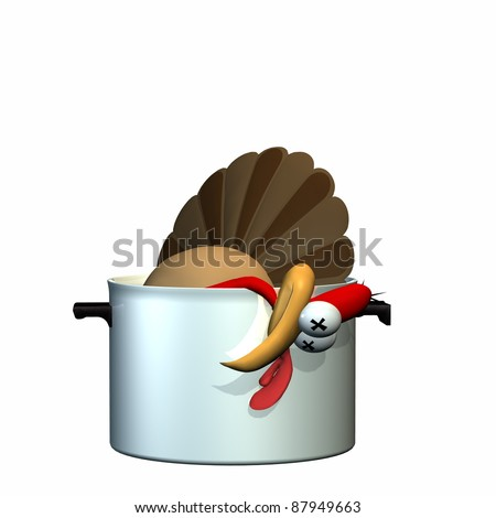 Turkey Pictures Dead Dead Toon Turkey Laying in a