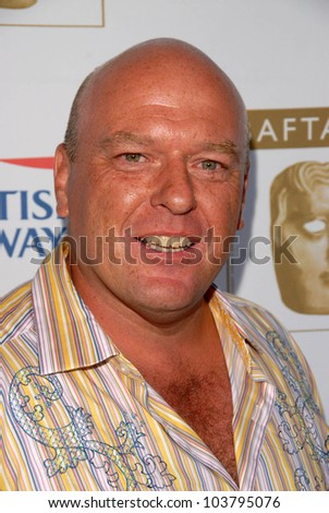 Dean Norris at the 7th Annual BAFTA-LA TV Tea Party. Intercontinental Hotel, Century City, CA. 09-19-09 - stock photo