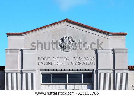 Stock images royalty free images vectors shutterstock for Ford motor company in dearborn michigan