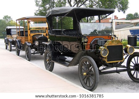 dearborn michiganfebruary 3 2018 model t stock photo (royalty free