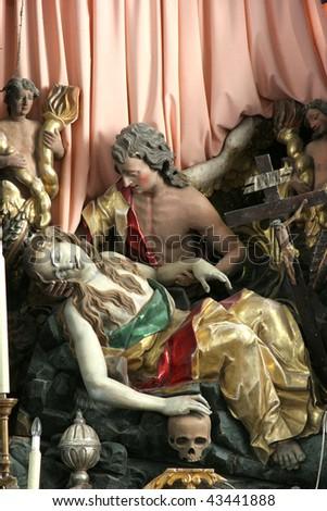 Death of Saint Mary Magdalene - stock photo