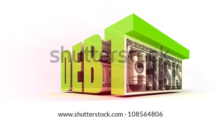 Debt Crisis - stock photo