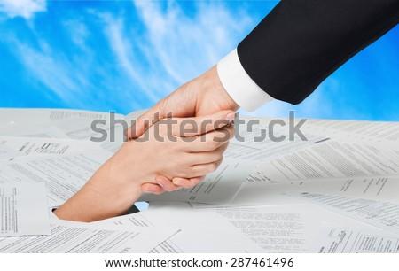 Debt, Finance, Bill. - stock photo