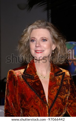 Dec 16, 2004; Los Angeles, CA: Actress BLYTHE DANNER at the Los Angeles premiere of her new movie Meet the Fockers.